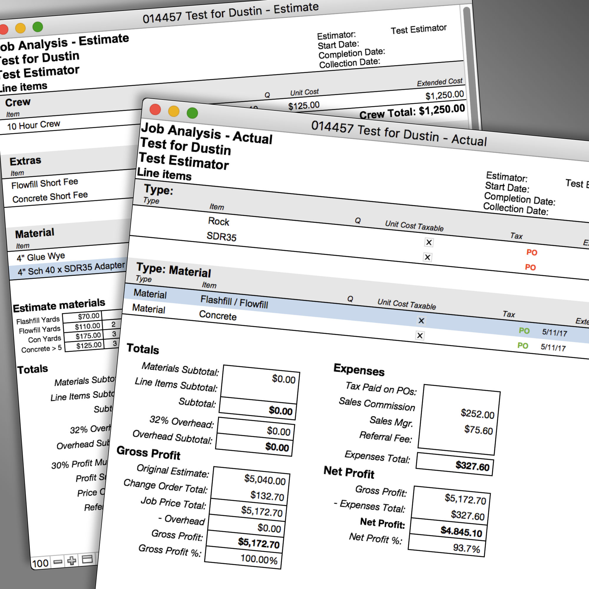Are you continually buried in spreadsheets? FileMaker can generate detailed analysis of your sales and costs.